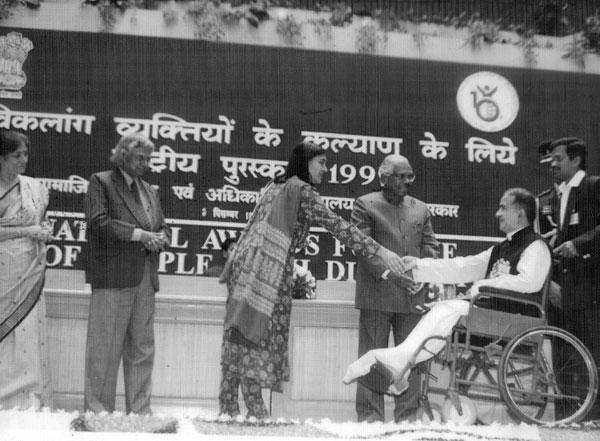 Ashok Hans our Founder receiving the National Award