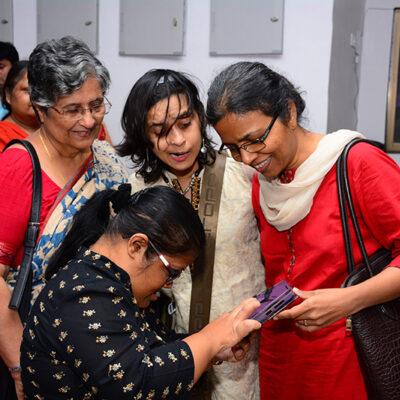 Nandini Ghosh with Jeeja Ghosh at WWDIN in Odisha