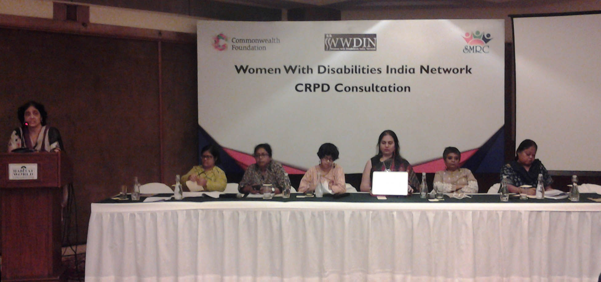 Consultation Meeting on Issues of Women With Disabilities