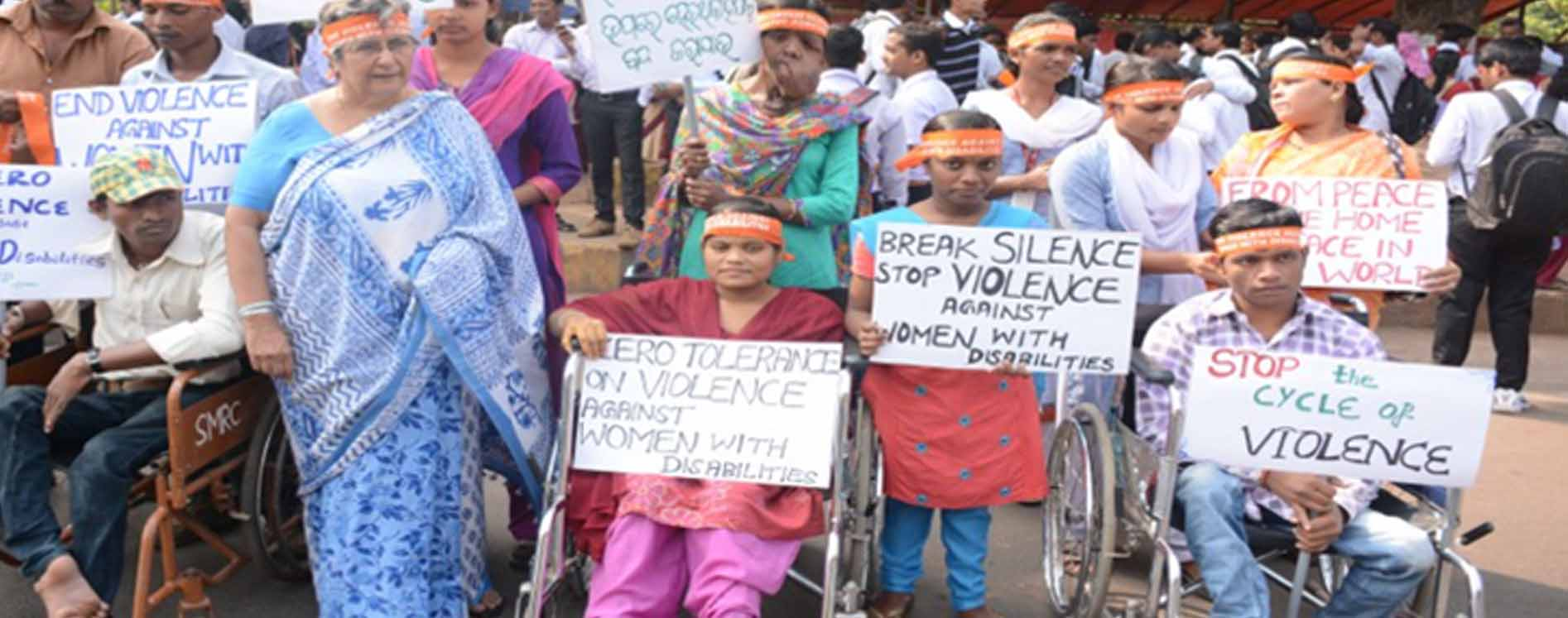 Rally to stop Violence during the 16 Days campaign